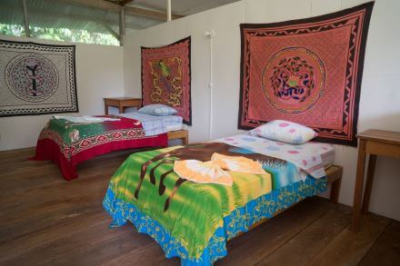 guest rooms at Hummingbird Center